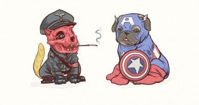If All The Super Hero Were Dogs - MashupCorner