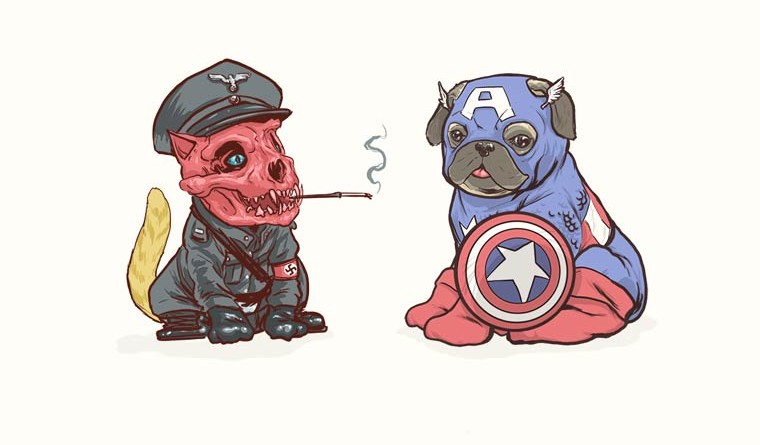 If All The Super Hero Were Dogs - MashupCorner