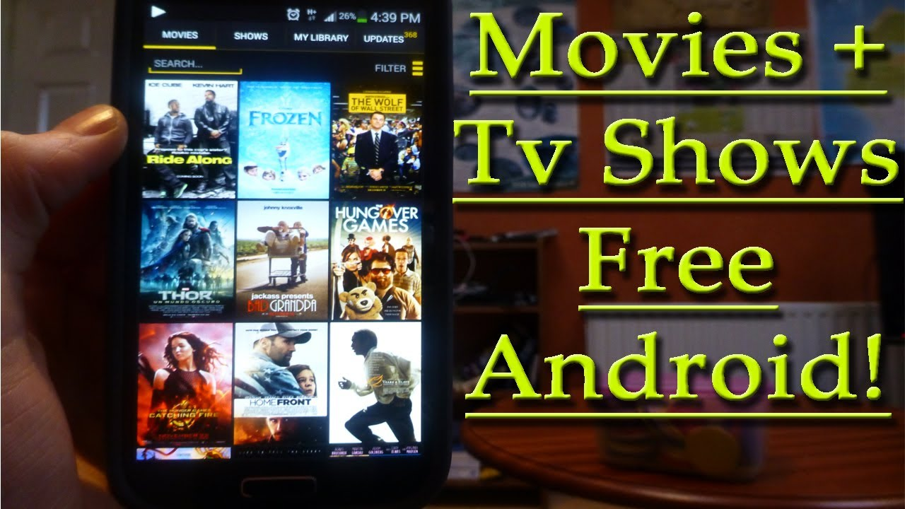 Best android app to watch tv shows free