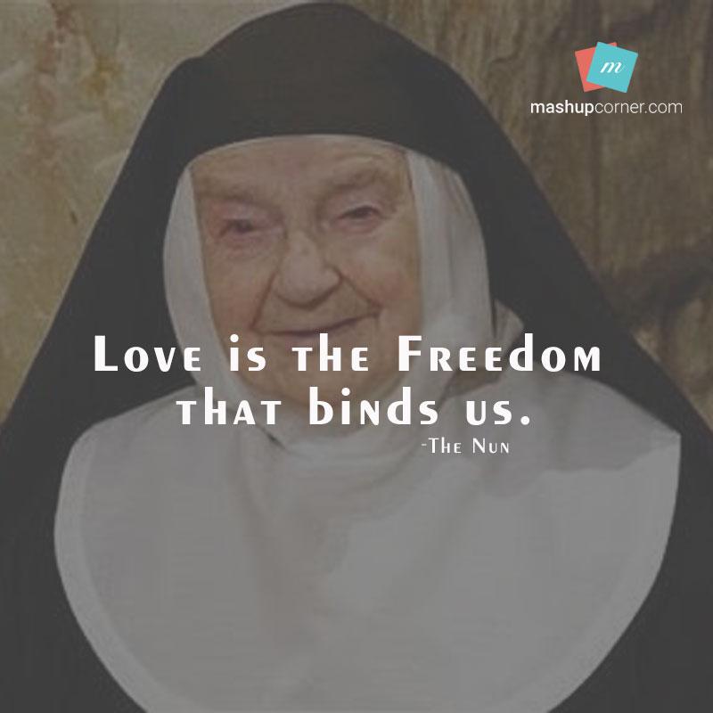 Love Is The Freedom That Binds Us - MashupCorner