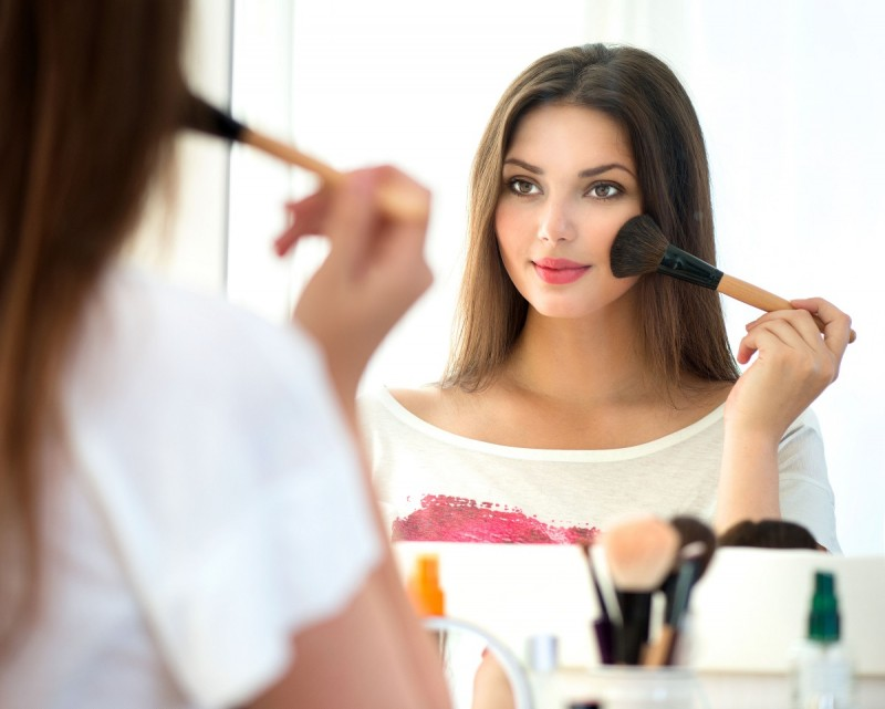 makeup compaq powder