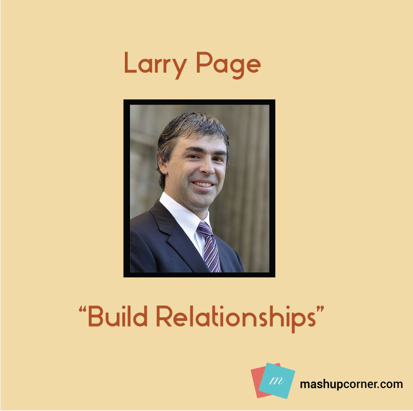 Startup advice larry page