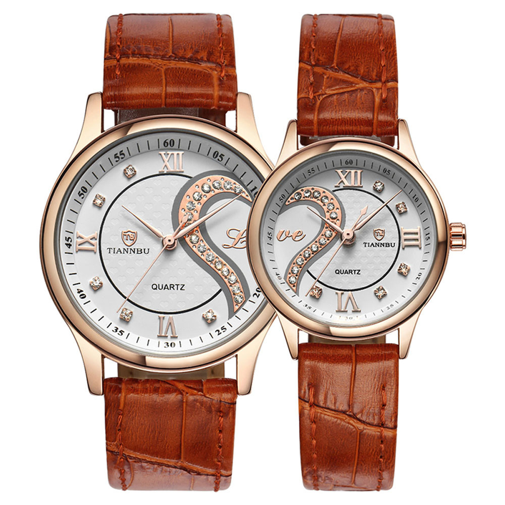 romantic couple watches gift for parents