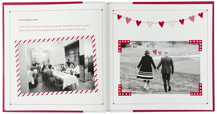 Gift ideas for parents. memory book