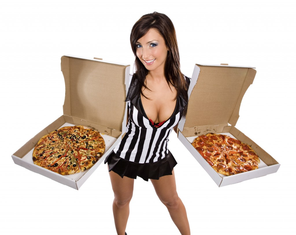 pizza party with diet talks