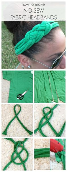 turn your old t-shirts into new accessories