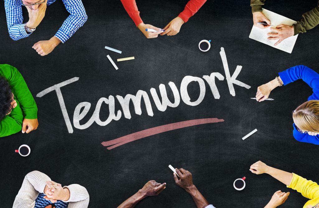 teamwork, working in a startup