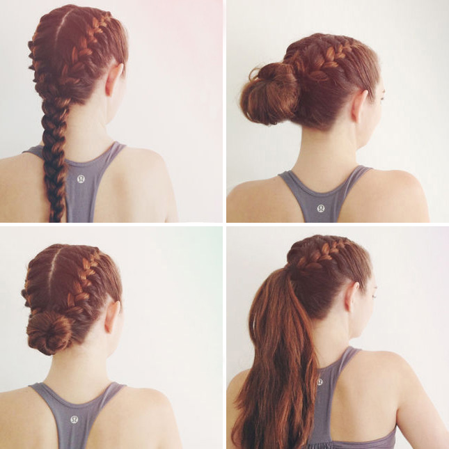 Fashion Hack 6 Attractive Hairstyles For Gym