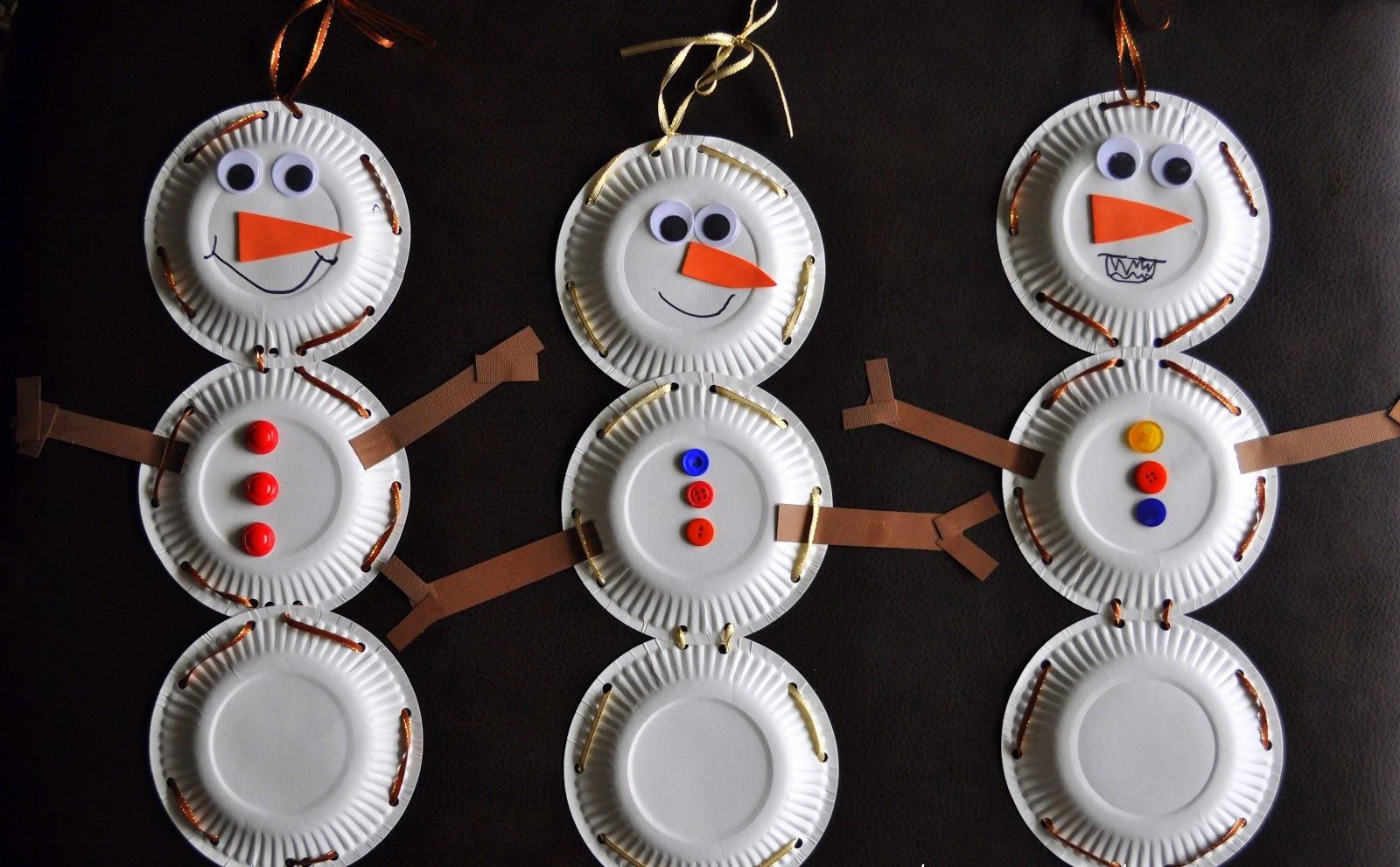 Поделки новогодние из одноразовой посуды