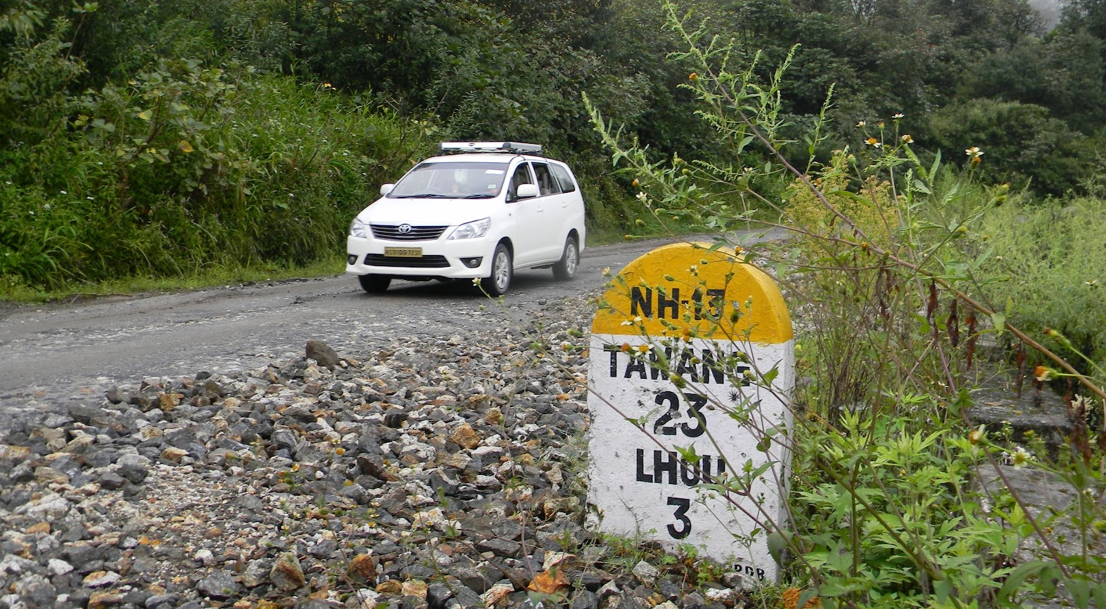 bhalupkong-to-tawang-road-trip-route