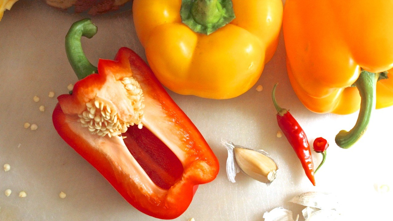 Bell Peppers - not get fat while eating full