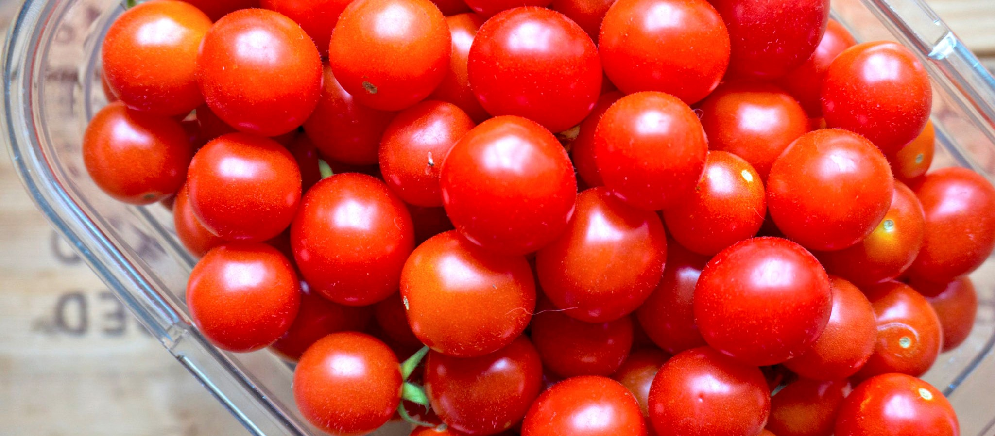 cherry tomatoes - not get fat while eating full
