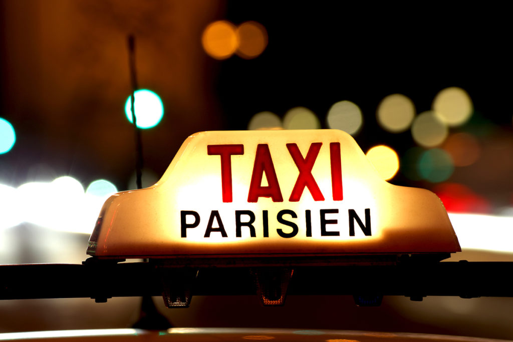 be ready for expensive taxi fare in paris