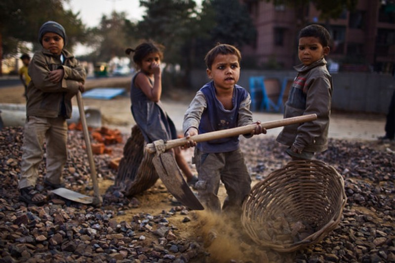 types of child labour